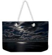 Full Moon On The Bay Of Fundy Weekender Tote Bag