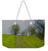 Full Moon On The Rise Weekender Tote Bag