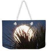 Full Moon Through The Palms Weekender Tote Bag