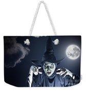 Full Moon Witch Weekender Tote Bag