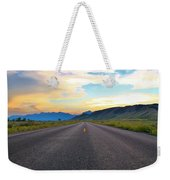 Full Speed Ahead Weekender Tote Bag