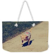 Full Speed Ahead Weekender Tote Bag by Laurie Search