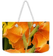 Full Stem Gladiolus Weekender Tote Bag