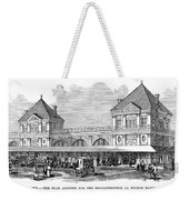 Fulton Fish Market, 1881 Weekender Tote Bag