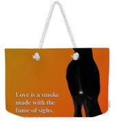 Fume Of Sighs - Williams Shakespeare Weekender Tote Bag