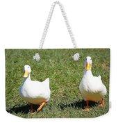 Fun Ducks Weekender Tote Bag