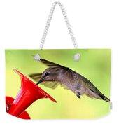 Fun Summer Hummingbird Weekender Tote Bag