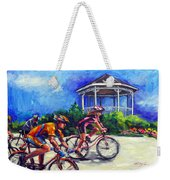 Fun Time In Bicycling Weekender Tote Bag