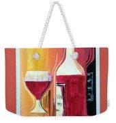 Fun Wine Time Weekender Tote Bag