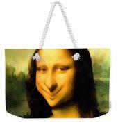 Fun With Mona Lisa Weekender Tote Bag