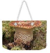 Fungi Wearing Lace Weekender Tote Bag