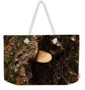 Fungus In Stump Hole Weekender Tote Bag