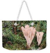 Fungus On Forest Floor Alaska Weekender Tote Bag
