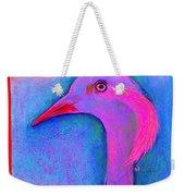 Funky Demoiselle Crane Bird Art Prints Weekender Tote Bag
