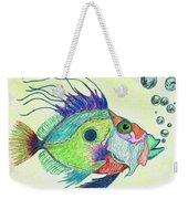 Funky Fish Art - By Sharon Cummings Weekender Tote Bag