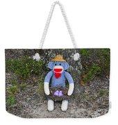 Funky Monkey - Purple Peeps Weekender Tote Bag