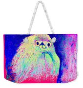 Funky Snowy Egret Bird Art Prints Weekender Tote Bag