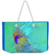 Funky Sulphur Crested Cockatoo Bird Art Prints Weekender Tote Bag