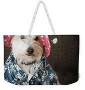 Funny Doggie Weekender Tote Bag