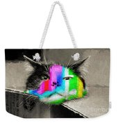 Funny Face Weekender Tote Bag by Andee Design