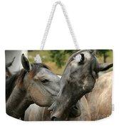 Funny Horses Weekender Tote Bag