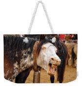 Funny Looking Horse Weekender Tote Bag