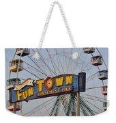 Funtown Ferris Wheel Weekender Tote Bag