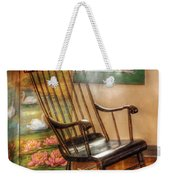 Furniture - Chair - The Rocking Chair Weekender Tote Bag