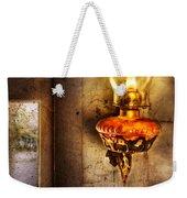Furniture - Lamp - Kerosene Lamp Weekender Tote Bag
