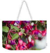 Fuchsia Spilling Over  Weekender Tote Bag