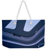 Futuristic Blue Weekender Tote Bag