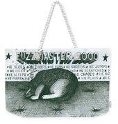 Fuzzmaster 2000 Weekender Tote Bag