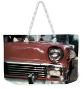 Fuzzy Dice Chevy Weekender Tote Bag
