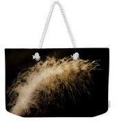 Fuzzy Feather Weekender Tote Bag