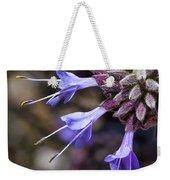 Fuzzy Purple Detail 1 Weekender Tote Bag