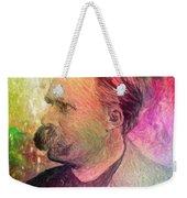 F.w. Nietzsche Weekender Tote Bag by Taylan Apukovska