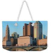 Fx1l922 Columbus Ohio Skyline Photo Weekender Tote Bag