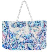 Fyodor Dostoyevsky / Colored Pens Portrait Weekender Tote Bag