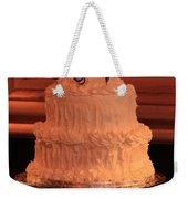 G And V Wedding Cake Weekender Tote Bag