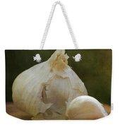 G Is For Garlic Weekender Tote Bag