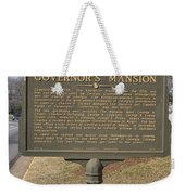 Ga-005-1b Old Governors Mansion Weekender Tote Bag