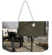 Ga-029-5 The Athens Double-barrelled Cannon Weekender Tote Bag