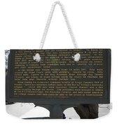 Ga-029-6 The Stoneman Raid Weekender Tote Bag