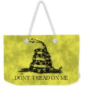 Gadsden Flag - Dont Tread On Me Weekender Tote Bag