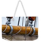 Gaff And Mainsail Weekender Tote Bag by Marty Saccone