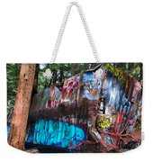 Gaffiti In The Candian Forest Weekender Tote Bag