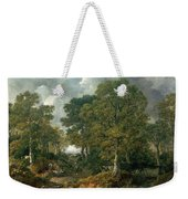 Gainsboroughs Forest Cornard Wood, C.1748 Oil On Canvas Weekender Tote Bag