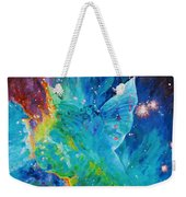 Galactic Angel Weekender Tote Bag