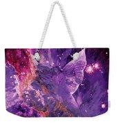 Galactic Angel - Rose Weekender Tote Bag
