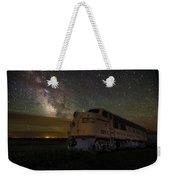 Galactic Express Weekender Tote Bag